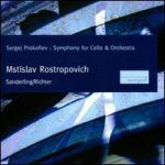 M. ROSTROPOVICH, K. SANDERLING, S. RICHTER - S. Prokofiev: Symphony For Cello & Orchestra